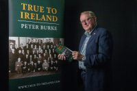 Peter Burke with book